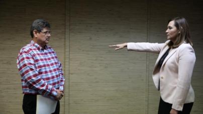 Rinde protesta Talina López como subsecretaria de Egresos