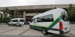 Quirino suma ya 400 nuevos camiones de servicio público