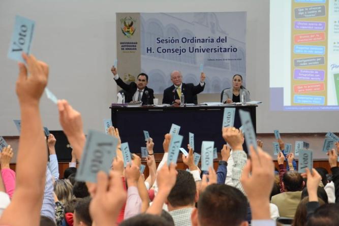 Consejo Universitario de la UAS exhortará al Congreso para legislar sobre el acoso sexual