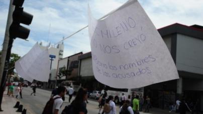 Un tendedero del acoso en Culiacán   Arranca jornada por el Día Internacional de la mujer