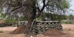 Rechazan construcción de base militar en Aguacaliente