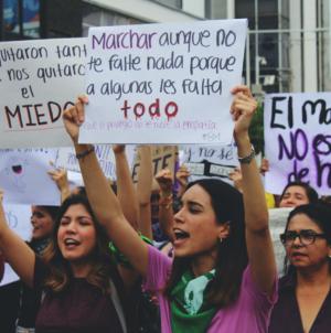 Las culichis no pararon, protestaron por la violencia de género en Sinaloa
