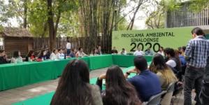 Proclama Ambiental Sinaloense | Colectivos sembrarán un millón de árboles en Sinaloa