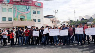 Tec de Culiacán | Se manifiestan, marchan y ahora bloquean calles en defensa de terrenos