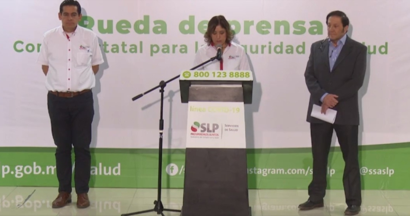 De SLP sexto muerto en México por COVID-19; tenía 70 años e infección bacteriana pulmonar