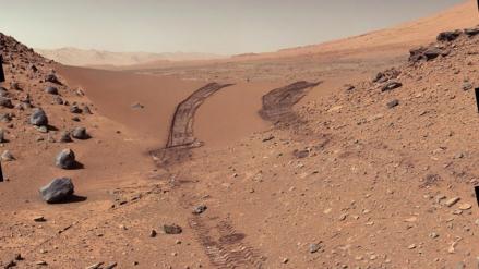 La NASA consigue la imagen más nítida de la superficie de Marte hasta la fecha