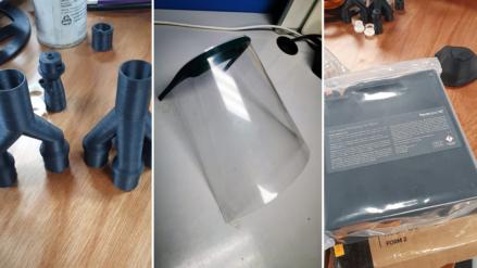 Museo Materia imprime equipo médico en 3D; convoca a 'makers' a sumarse