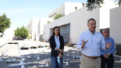 Construyen en HG Culiacán, Unidad Especial para pacientes COVID-19