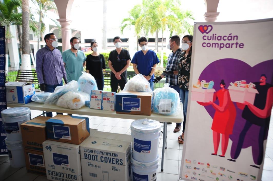 Donación al Hospital Civil de Culiacán por parte de ARCO. FOTO: Rolando Carvajal/ESPEJO.
