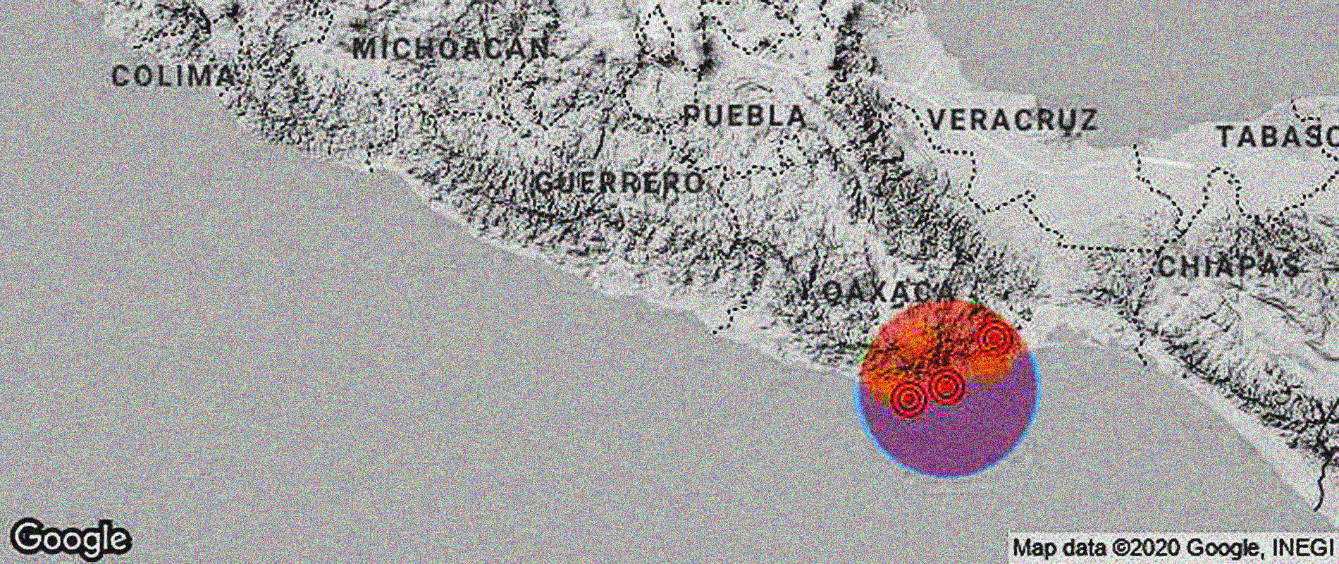 Un fuerte sismo ha sacudido esta mañana la capital mexicana y varios estados del centro de la República, y los informes preliminares dicen que fue superior a los 7 grados. Se reporta que el epicentro fue 12 kilómetros al sureste de Crucecita, Oaxaca.