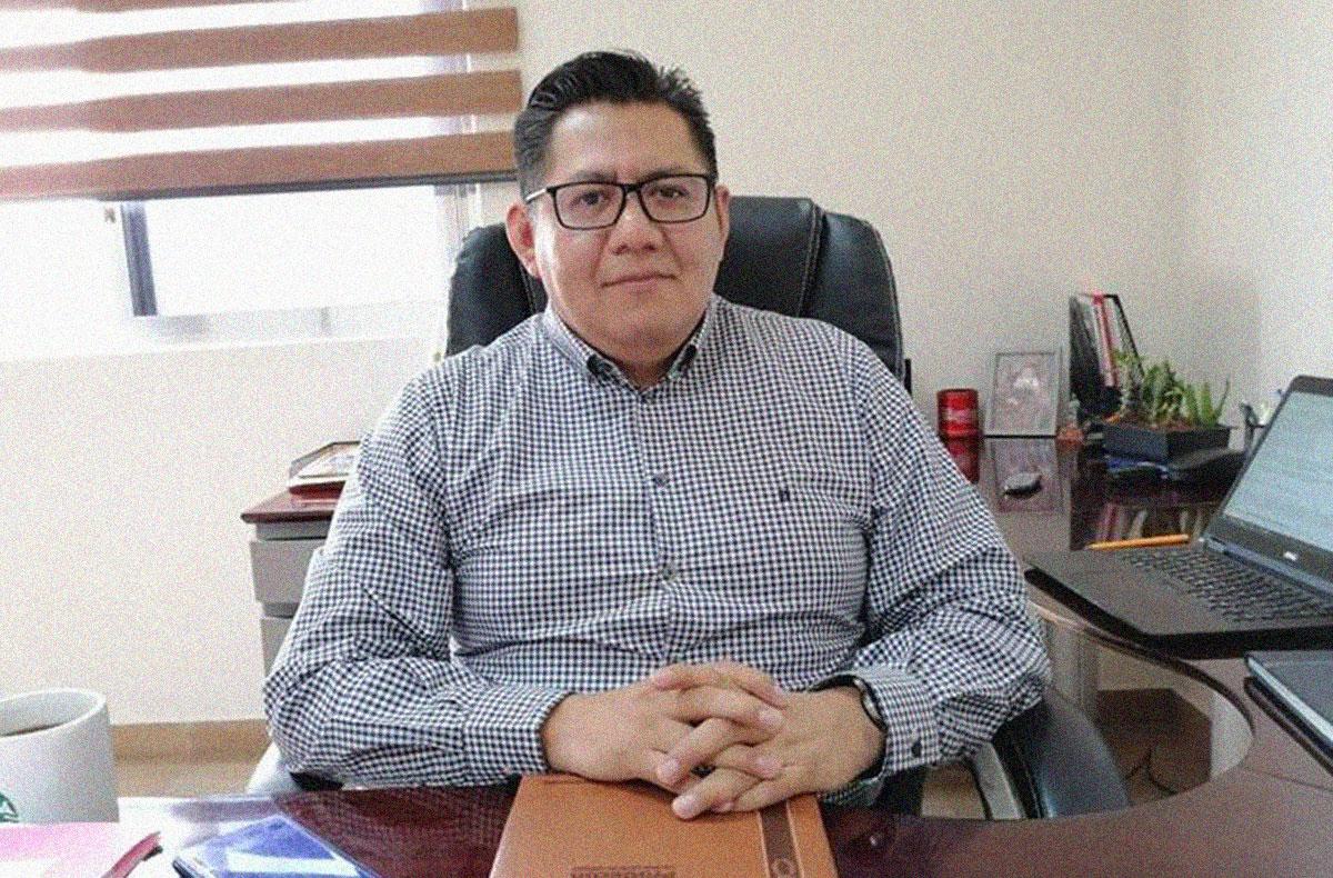 Delegado de la Procuraduría de la Defensa del Contribuyente (PRODECON) el licenciado Oscar López Pascual. FOTO: Cortesía | PRODECON.
