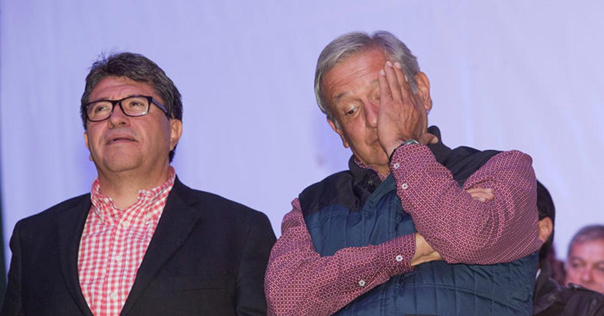 AMLO con Ricardo Monreal. FOTO: Proceso.