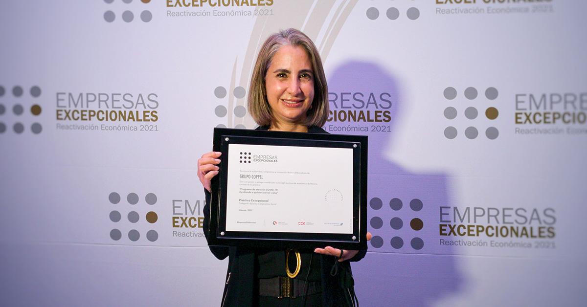 Rocío Abud, Directora de Responsabilidad Social y Fundación Coppel. FOTO: Cortesía