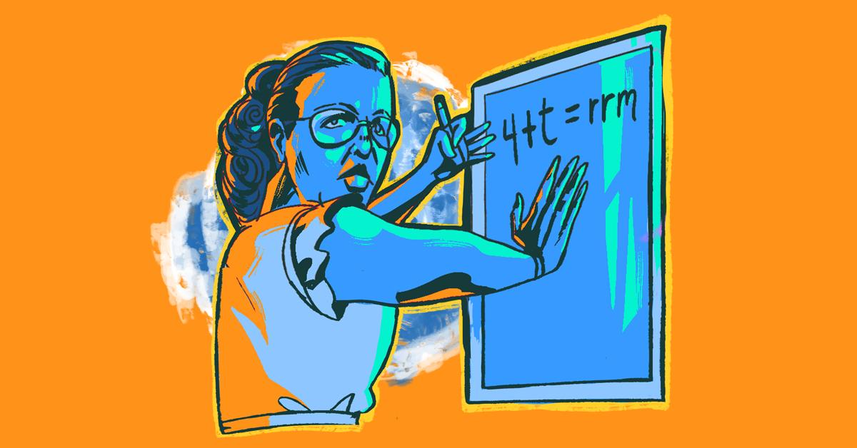 Graciela Domínguez Nava. Ilustración: Machateo